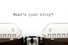 give up your story